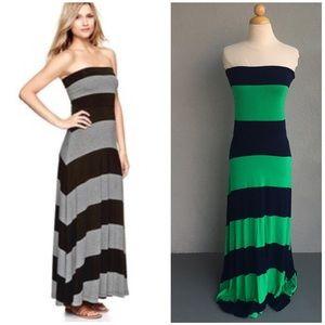 GAP Reversible Maxi Dress Size M